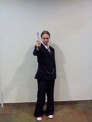 Fem!10th Doctor Cosplay Part 2