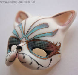 doll zone cat mask by DeborahChampion