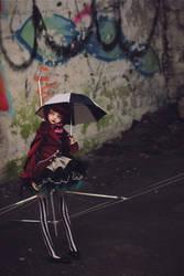 Umbrellas by DeborahChampion