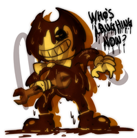 Bendy and The ink machine by IntoxicGecko