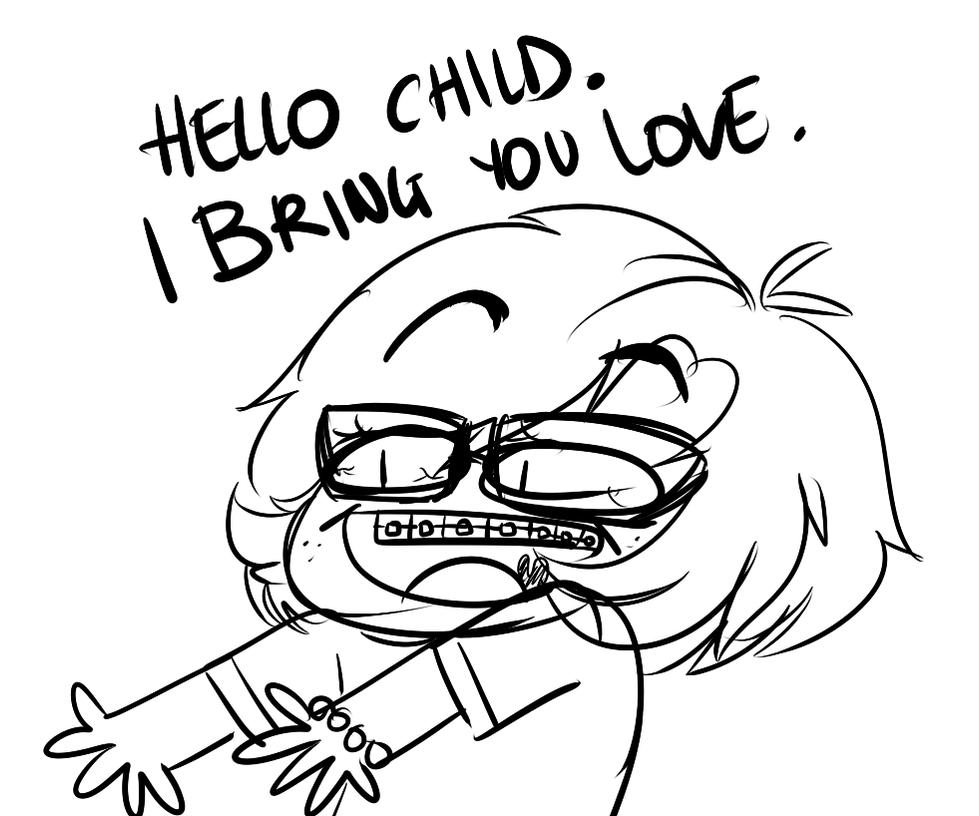 Hello Child by Deidrastic