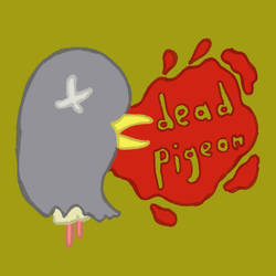 Dead Pigeon Logo by hippoboy