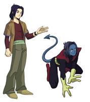 X-Men Evolution  Kurt by 3393339