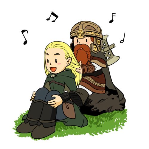 legolas and gimli2 by 3393339