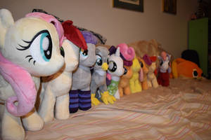 My happy little pony plushie collection!