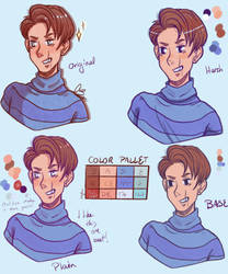 Character Design - Hugo Grey