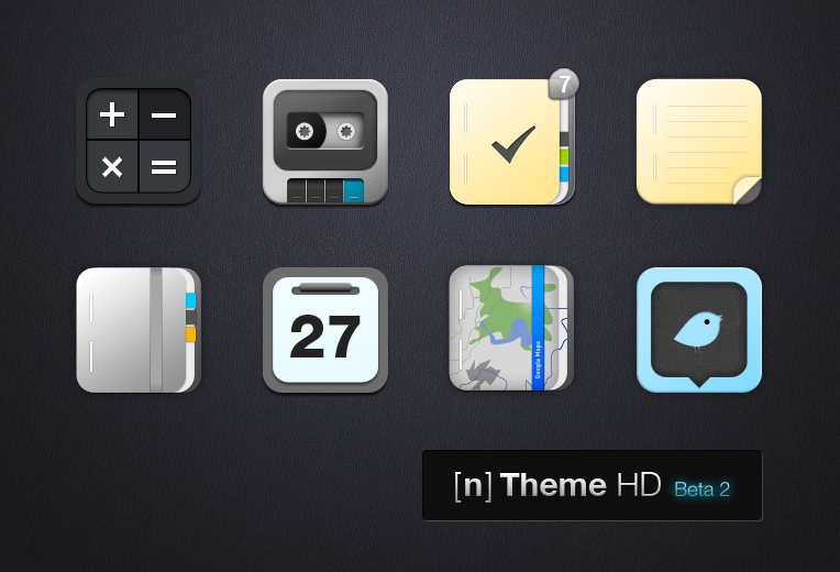 n-Theme HD Beta 2 by MZwei