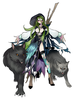 The witch of wolf