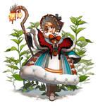 Character Concept Art - Druid