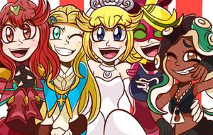 2017 Nintendo girls