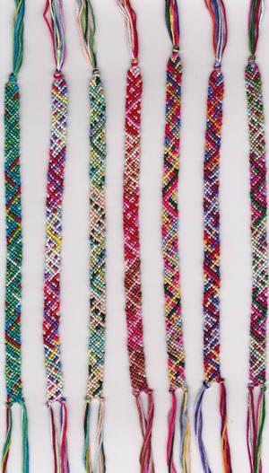 022513 woven 7 bracelets