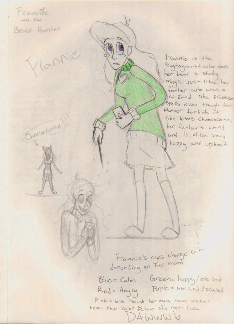 Frannie Doodle by Blu-Blood