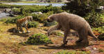 Smilodon and Megalonyx