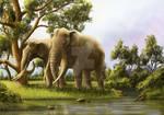 Eastern Africa: Palaeoloxodon and Dinofelis