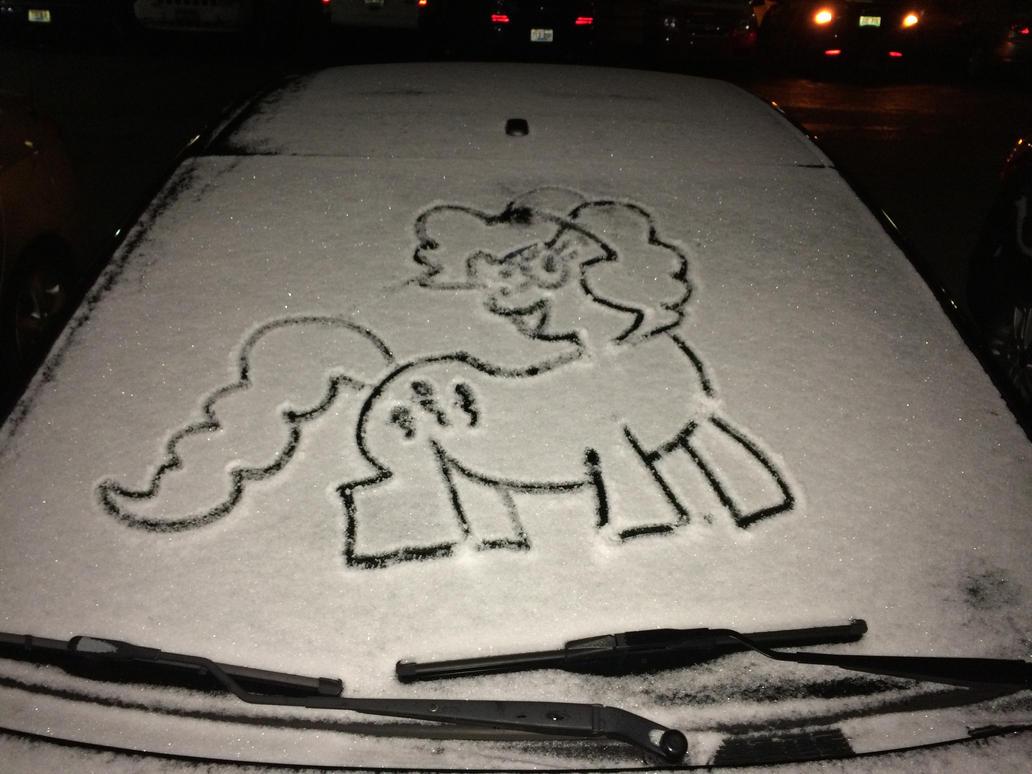 Pony Graffiti - Pinkie Pie by Easle-Darkpaws