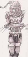 Super Smash Bros 4 - Shiek [Commission]