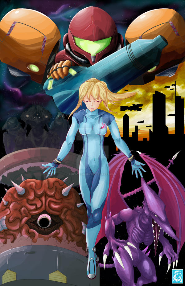 SuperSmash Bros 4 - Metroid Tribute [Preview Only]