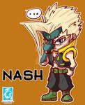 Street Fighter V - Nash [Maplestory Style]