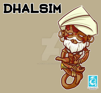 Street Fighter V - Dhalsim [Maplestory Style] by RedCaliburn