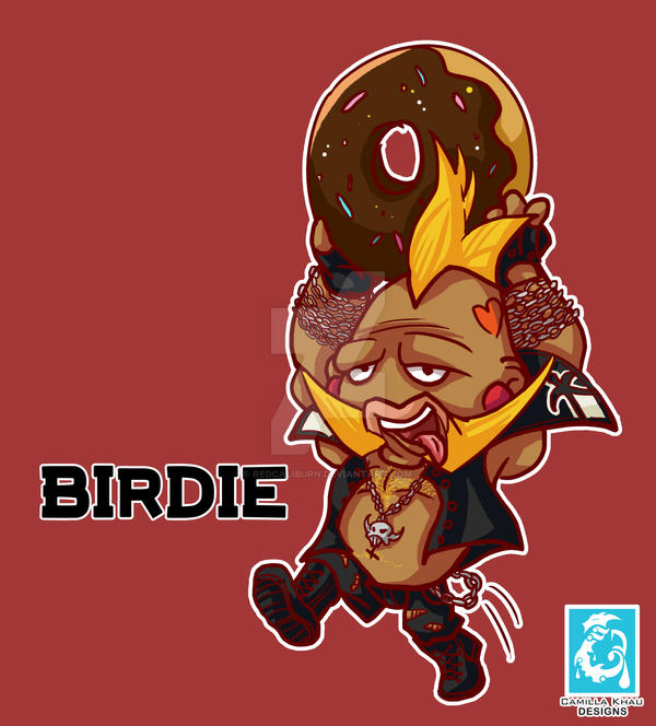 Street Fighter V- Birdie [Maplestory style] by RedCaliburn