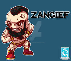 Street Fighter V - Zangief [Maplestory Style]