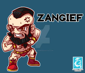 Street Fighter V - Zangief [Maplestory Style]
