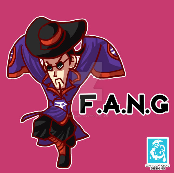 Street Fighter V - F.A.N.G [Maplestory style] by RedCaliburn