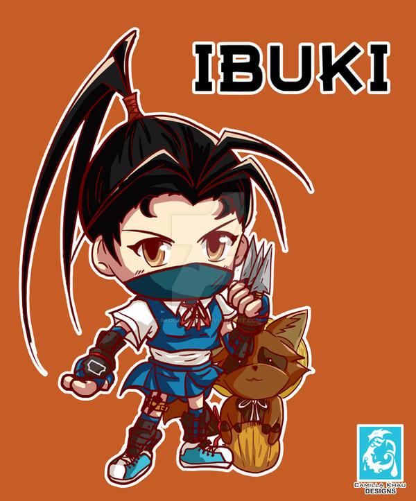 Street Fighter V -Ibuki [Maplestory Style] by RedCaliburn