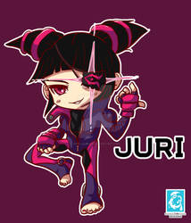 Street Fighter V -Juri [Maplestory Style]