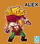 Street Fighter - Alex [Maplestory Style]