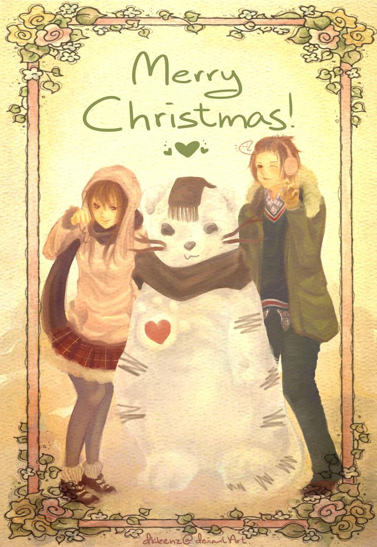Ducky's Art(?) stuff. =u= S_s__happy_christmas_by_dkleenz-d4k5xn4