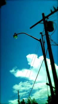 Streetlamp lines