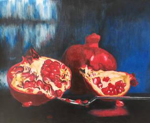 Pomegranate by BCesarArts