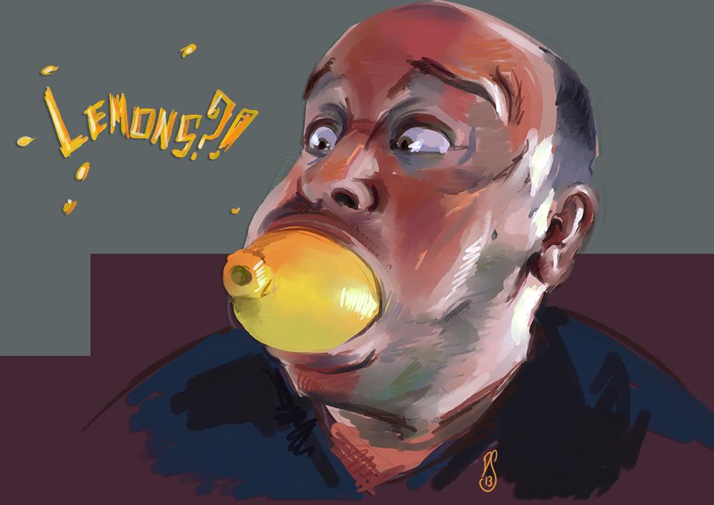 Lemons?! by SirSmudge