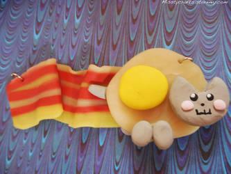 Breakfast Nyan Cat by Misstymountains