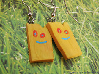 Plank Earrings by Misstymountains