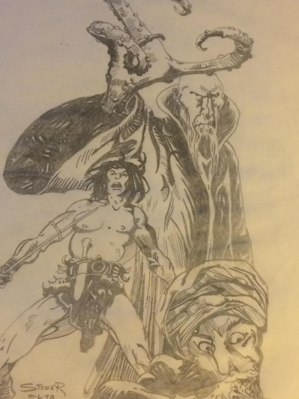 Wizard/Conan