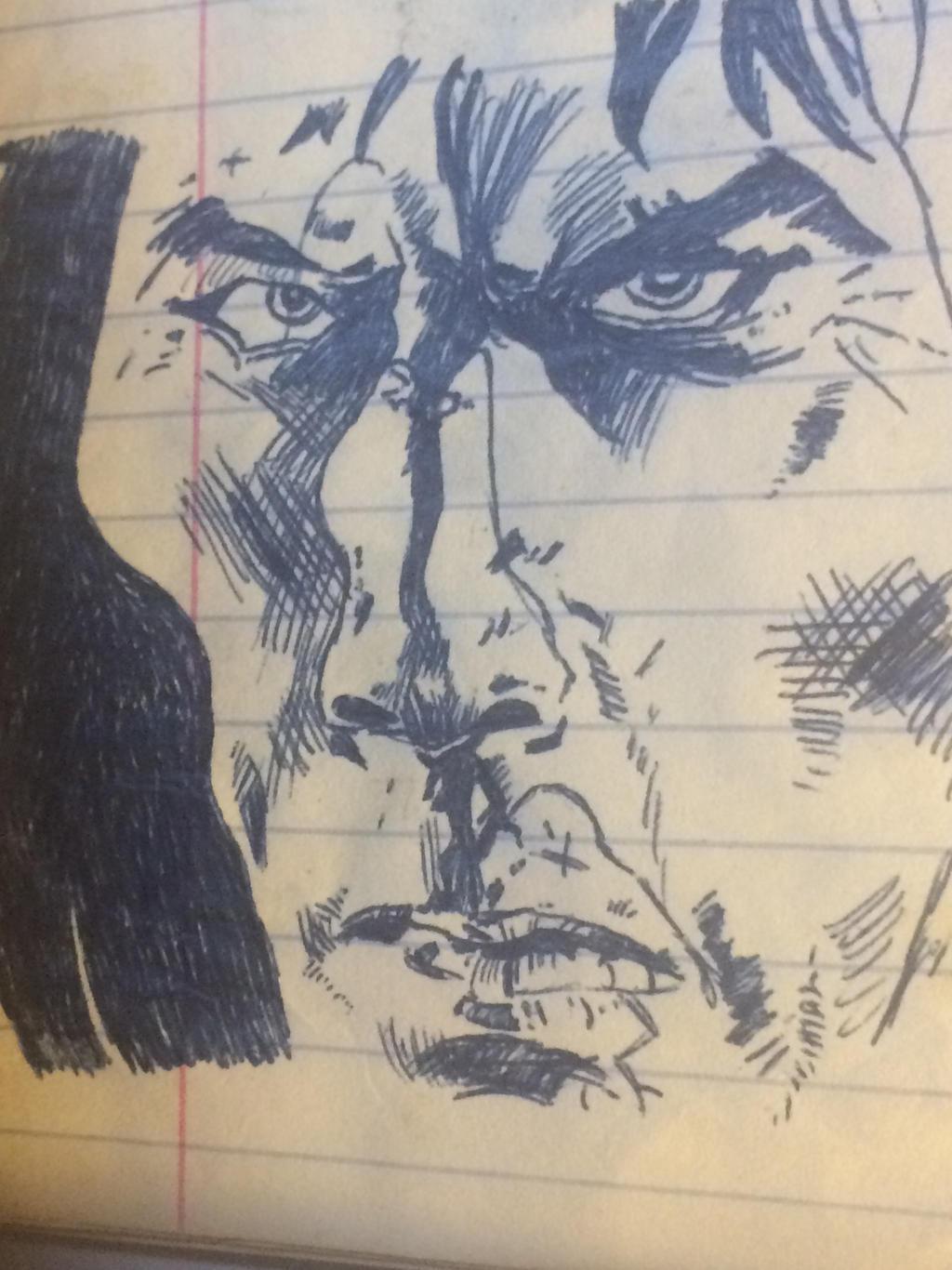 Conan in pen