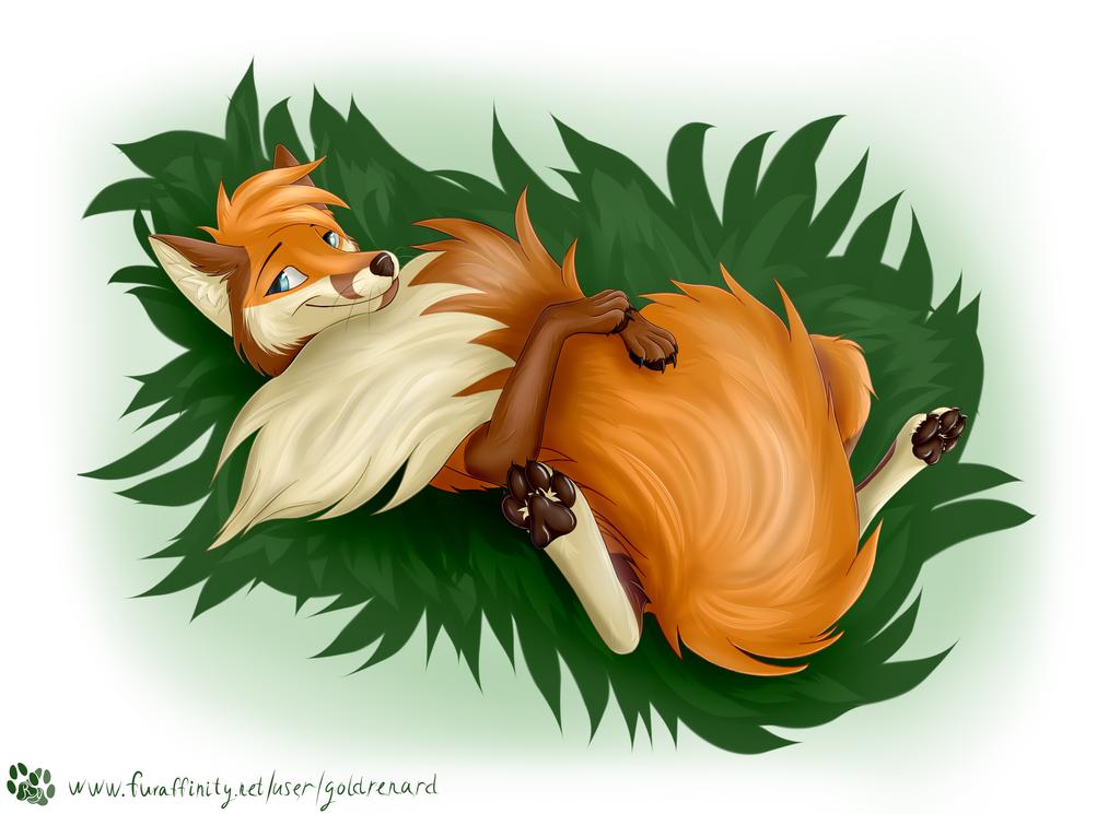 My dear Tail by goldrenard