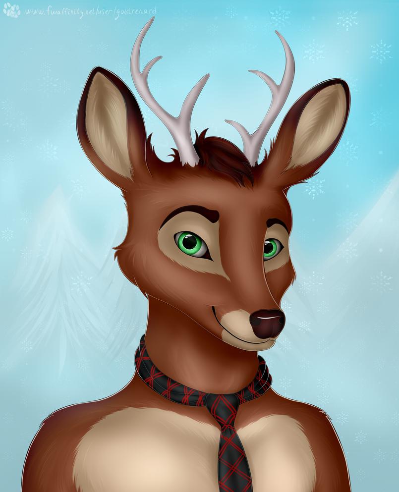 Deer by goldrenard