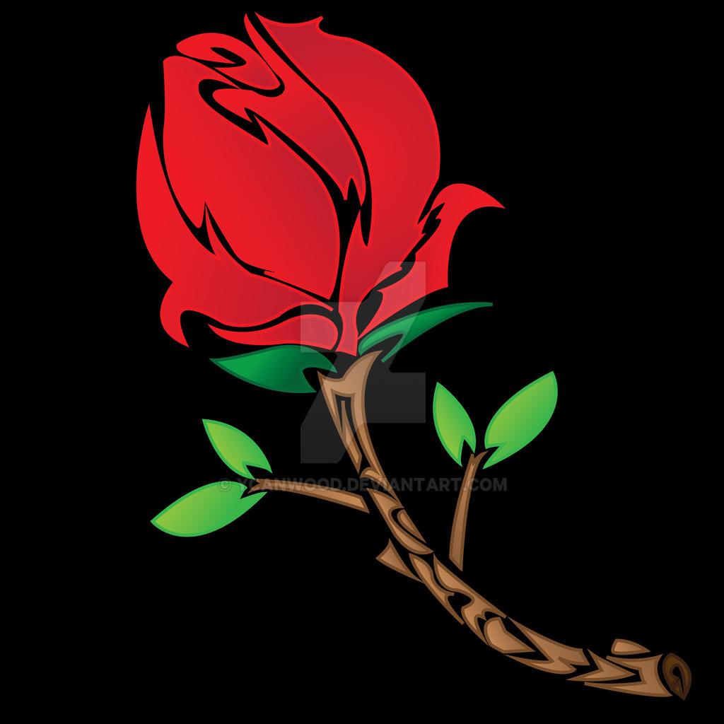 tribal rose