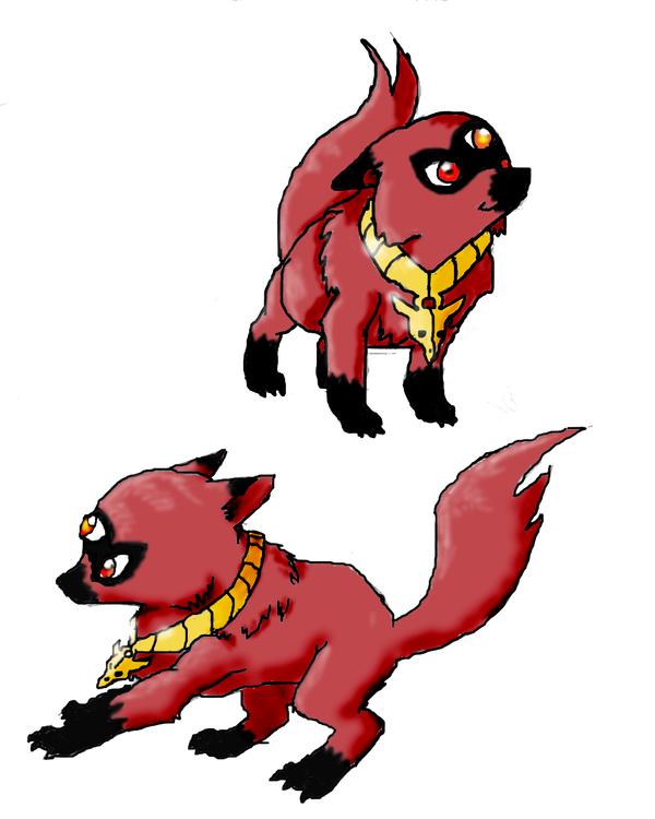 #029 - Poltergeist Demon_fox_chibi_version_by_calicobird