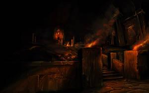 Dwarfs Underground Temples by Bezduch