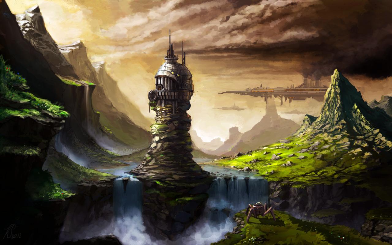Alien Planet by Bezduch