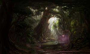 Elven City by Bezduch
