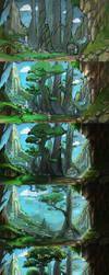 Making of 'Wonderland' by Bezduch