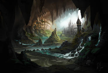 Underground Kingdom by Bezduch