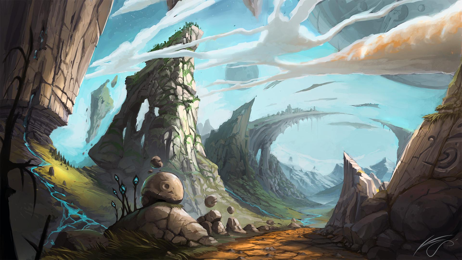 Alien Planet by Bezduch on DeviantArt
