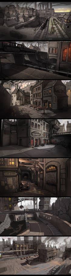 Bunch of quick UE paintovers
