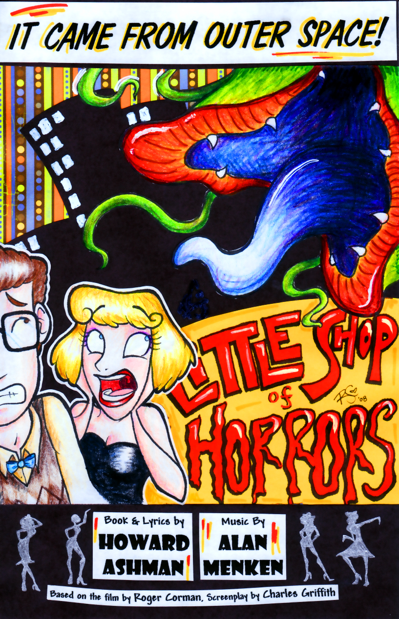 Little Shop of Horrors Program by the-Mad-Hatress
